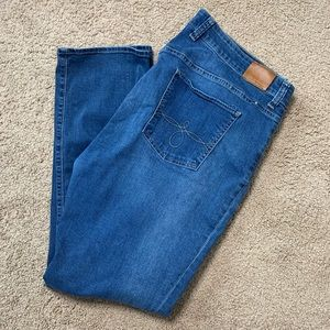Lucky Brand Ginger Straight Jeans